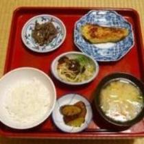 湯治Cプランの夕食例