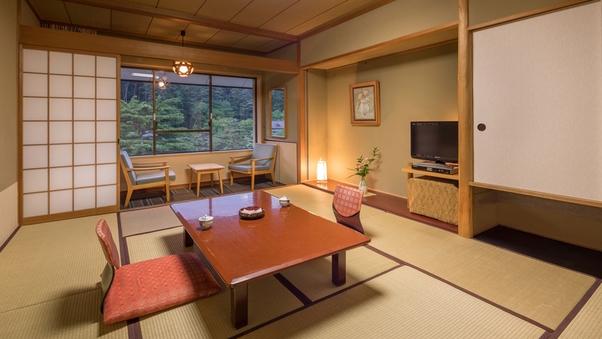 【喫煙可】10畳+広縁|ゆったり和室&湯めぐり満喫