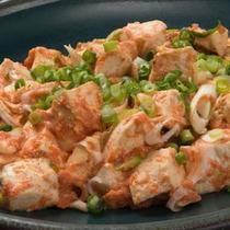 バイキングメニュー例「めんたい豆腐」