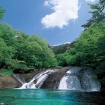 イーハトーブの風景地「釜淵の滝」