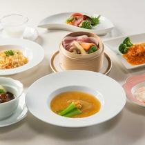 人気の中国料理フルコース ※9月までの料理イメージ