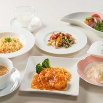 中国料理お値打ちコース ※9月までの料理イメージ
