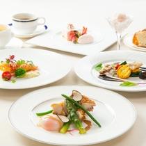 フレンチスペシャルコース ※8月までの料理イメージ