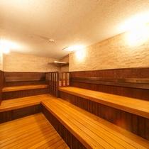 ホテル花巻大浴場のサウナ