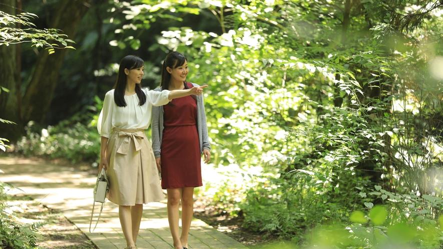 イーハトーブの風景地「釜淵の滝」 遊歩道は散策コースとして最適です!