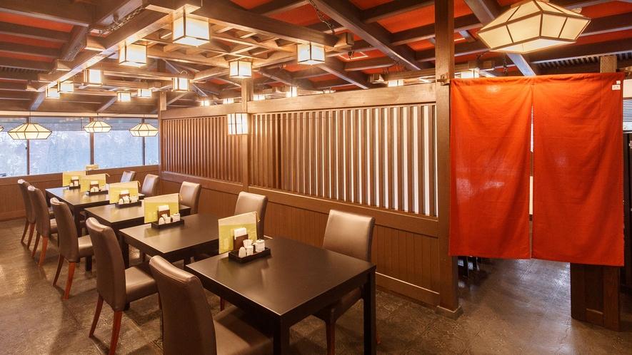 隣接するホテル花巻 7F 和食処「羽山」