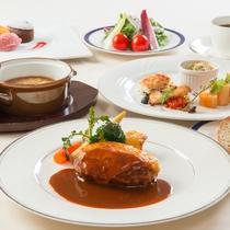 洋食お値打ちコース ※2月までの料理イメージ