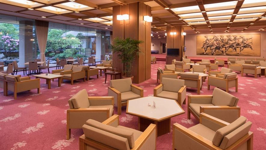 ホテル千秋閣 ロビー