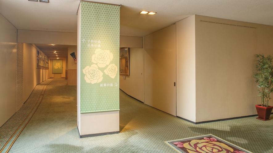 ホテル花巻 バラの小径
