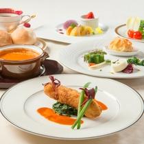洋食お値打ちコース ※5月までの料理イメージ
