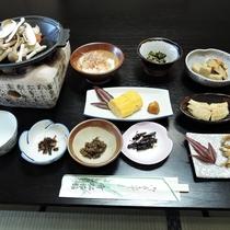 *【朝食全体例】田舎の素朴な和朝食を召し上がれ♪