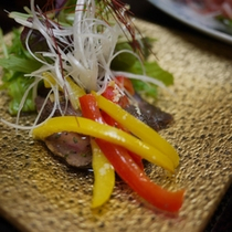 *夕食例(肉料理)