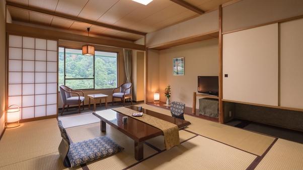 【喫煙可】10畳+広縁|ゆったり落ち着いた和室&湯めぐり満喫