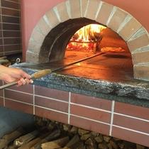 <ピザ作り体験プラン特典>本格石窯で焼くピザ作り体験♪