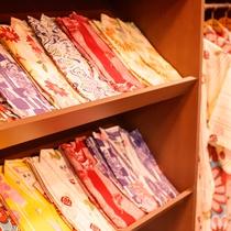 【女性限定】選べる色浴衣 貸し出し料金:1着700円