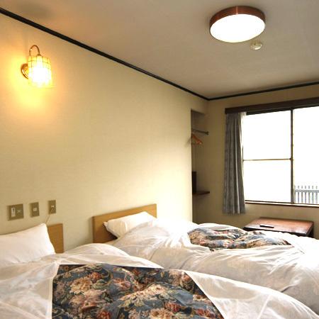 洋室ツインルームのお部屋イメージです