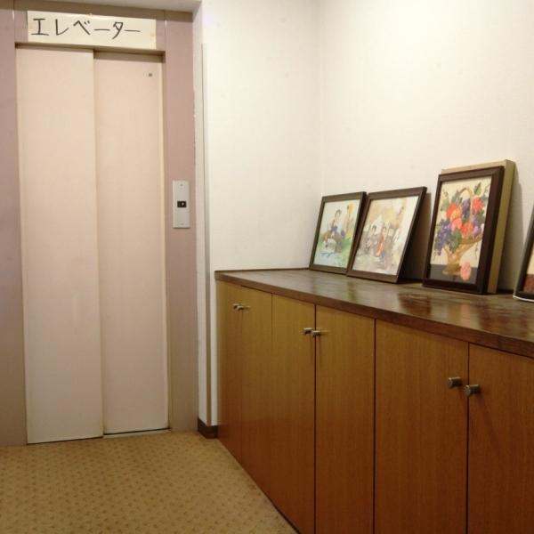 館内_エレベーター