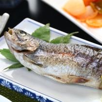 夕食 魚の焼き物
