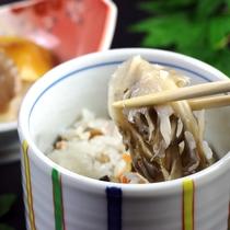 夕食一例◆きのこご飯