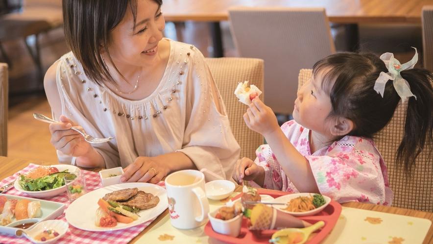 【コスモス/夕食】ミキハウス子育て総研とコラボしたキッズメニュー