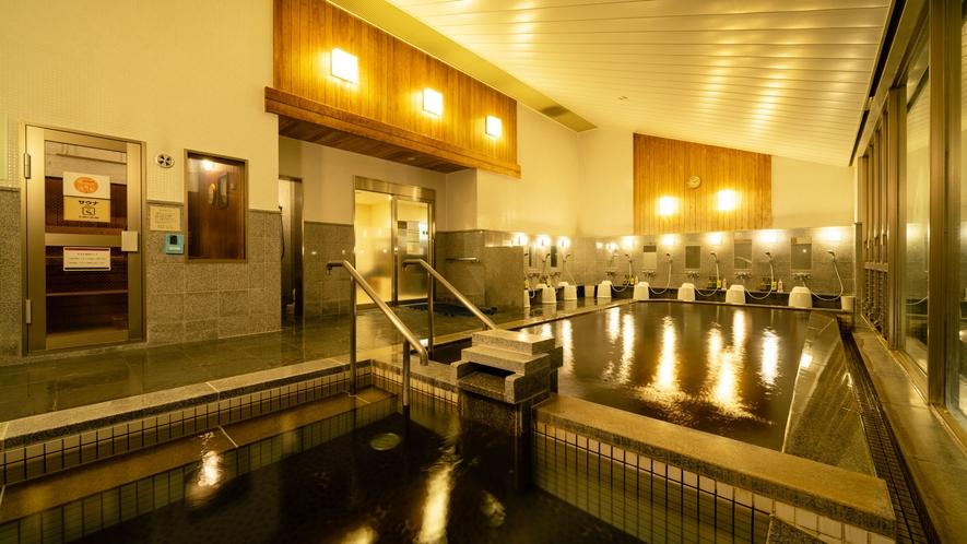 【あてま温泉】美しの湯 内風呂
