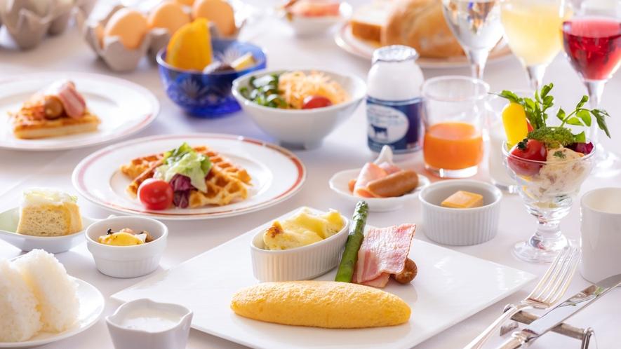 【コスモス/朝食】和洋ブッフェ