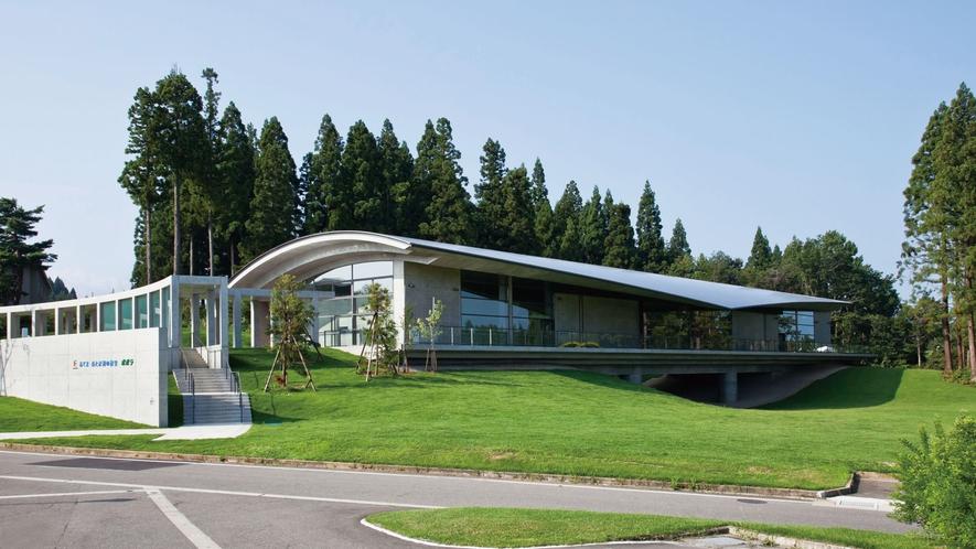 あてま森と水辺の教室「森のホール」/自然体験プログラムの拠点地