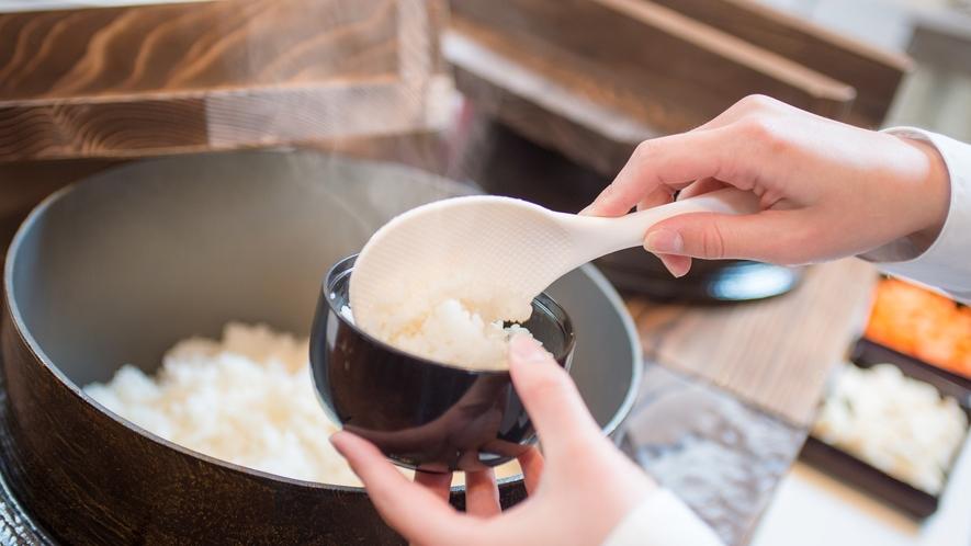 【コスモス/朝食】美味しいお米はもちろん魚沼産コシヒカリ