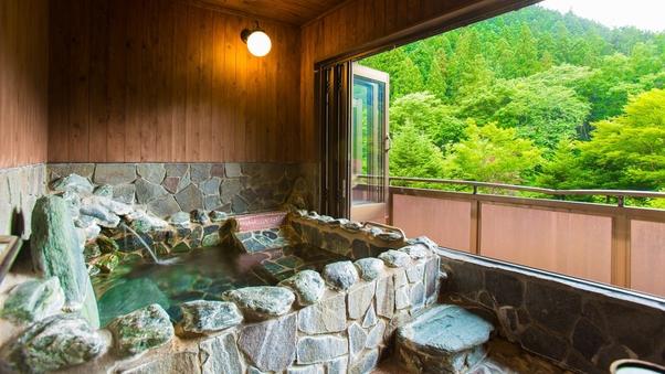 谷川岳望む源泉かけ流し露天風呂付和室10畳+4.5畳/禁煙