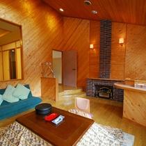 【煌星(きらぼし)】谷川岳を望むリビング10畳+和室6畳