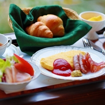 【洋食朝食】選べるドリンクなど卵料理やパンを味わいたい方にお勧め