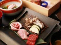 【台の物一例】~和風~お肉を三種盛り 鉄板焼き