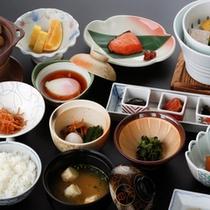 【ご朝食】和食膳をご用意します。本当に美味しいお米を朝から味わいたい方にお勧め