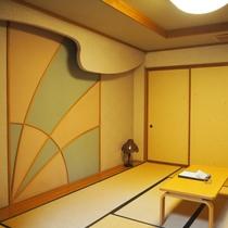 【煌星(きらぼし)】谷川岳を望むリビング10畳+和室10畳