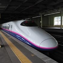 JR上越新幹線の上毛高原駅からは水上駅まで路線バスでお越しください(送迎できません)