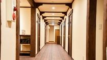 *[2階]リニューアル客室前の廊下