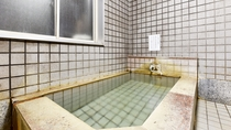 *[貸切風呂(男湯)]肌への負担が少ない柔らかい湯を、ゆっくりご堪能下さい