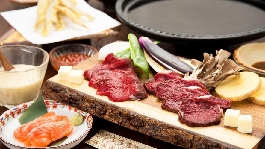 *[鹿肉鉄板焼きスタンダード一例]鹿肉が苦手な方こそ食べてほしい自慢の一品です