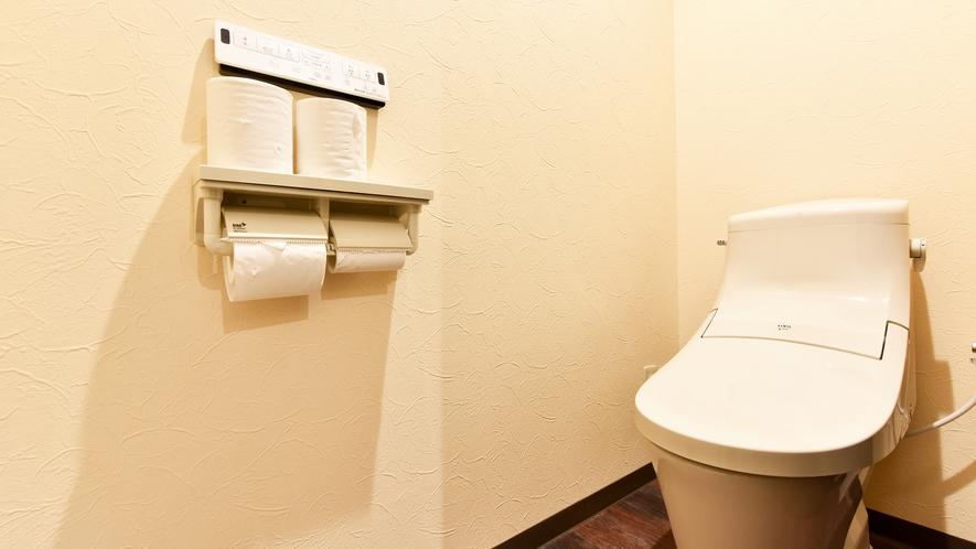 *[2階・洗浄機能付トイレ]客室にないため共同トイレをご利用下さい