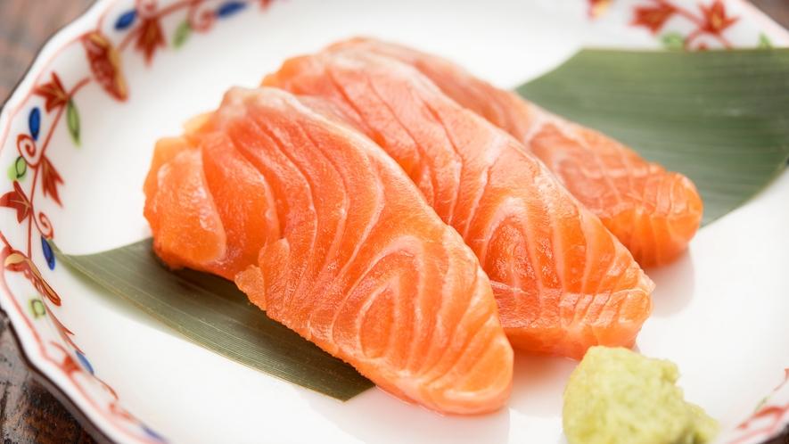 *[夕食一例]北海道で獲れた旬のお刺身もご賞味下さい