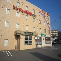 【外観】HOTEL AZ北九州新門司港店