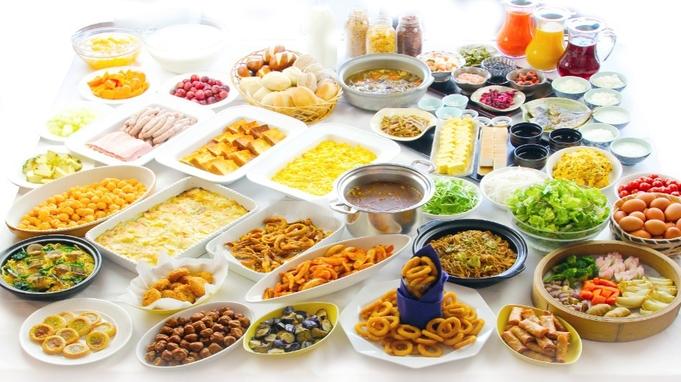 【当日予約限定】【朝食付】約40種類の朝食バイキング!タイムセールプラン