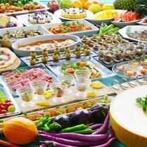 夕食ビュッフェ 夏のイタリアンフェア