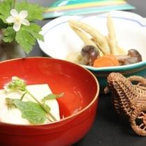 料理‐胡麻豆腐
