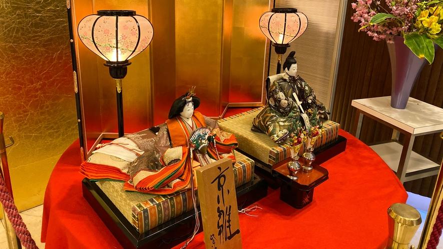 3月 雛飾り(一例)