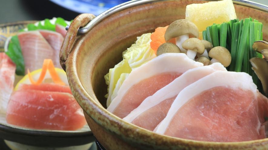 【料理】夕食一例_黒豚鍋
