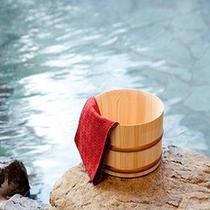 チェックアウト後も滞在中と同じように貸切風呂が無料でご利用頂けます。