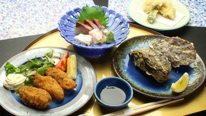 今が旬!3/31まで【焼き牡蠣×牡蠣御飯】牡蠣フルコース