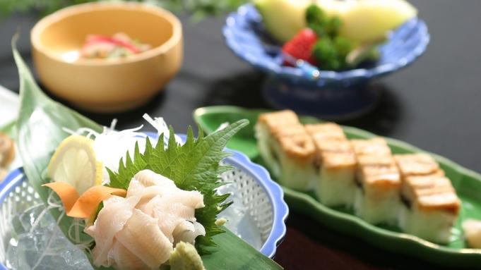 宮島名物を食べよう!あなご大好き!【穴子お造り×穴子寿司】あなごフルコース