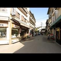 宮島の街並み